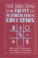 New Directions for Equity in Mathematics Education PDF
