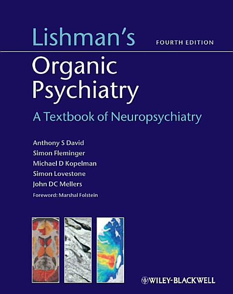 Lishman s Organic Psychiatry PDF