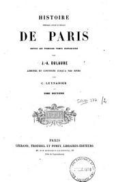 Histoire physique, civile et morale de Paris: depuis les premiers temps historiques, Volume2