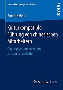 Kulturkompatible F  hrung von chinesischen Mitarbeitern PDF