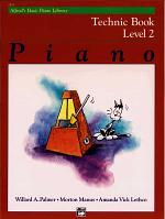 Alfred's Basic Piano Library Technic Book