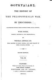 Thoukydidēs. The history of the Peloponnesian war: Volume 3