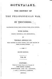 Thoukydidēs. The history of the Peloponnesian war: Volume 3