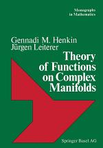 Theory of Functions on Complex Manifolds