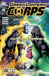 Green Lantern Corps (2006-) #15