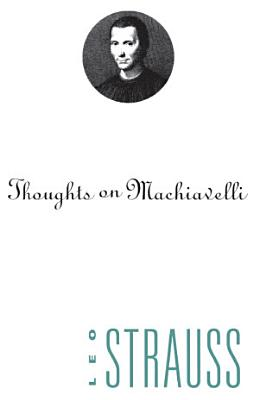 Thoughts on Machiavelli PDF