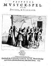 Pastorel mvsyck-spel van Juliana, en Claudiaen