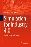 Simulation for Industry 4 0 PDF