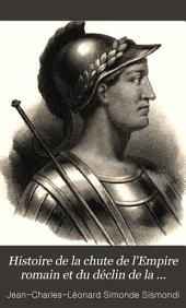 Histoire de la chute de l'Empire romain et du déclin de la civilisation, de l'an 250 à l'an 1000