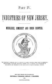 Industries of New Jersey: Middlesex, Somerset and Union counties