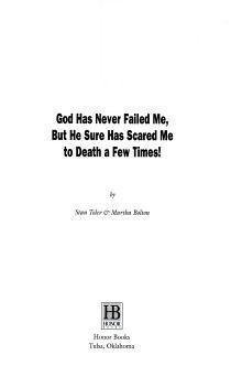 God Has Never Failed Me PDF