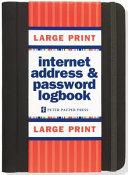 Internet Address   Password Logbook
