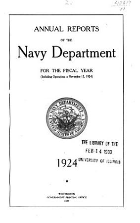 Annual Reports of the Navy Department for the Fiscal Year     PDF