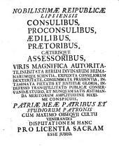 Animadversiones ad Censuram Facultatis theologicae Parisiensis latam in Sorbona d. 18. Maii a. 1683 de propositione: Ad solam sedem apost. ...