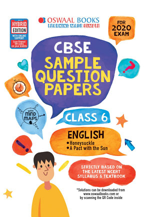 Oswaal CBSE Sample Question Papers Class 6 English  For March 2020 Exam