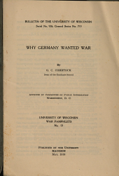 Why Germany Wanted War