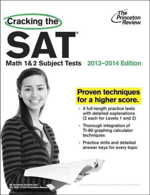 Cracking the SAT Math 1   2 Subject Tests