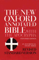 The New Oxford Annotated Bible with the Apocrypha PDF