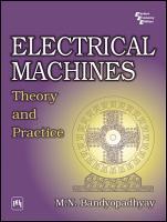 ELECTRICAL MACHINES PDF
