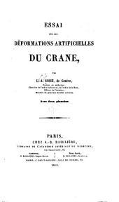 Essai sur les deformations articielles du crane