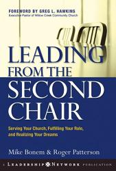 Leading From The Second Chair Book PDF