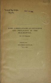 Some Correlations of Ontogeny and Phylogeny in the Brachiopoda