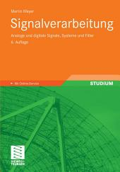 Signalverarbeitung: Analoge und digitale Signale, Systeme und Filter, Ausgabe 6