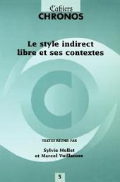 Le style indirect libre et ses contextes