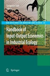 Handbook of Input-Output Economics in Industrial Ecology