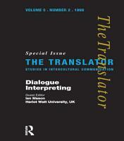Dialogue Interpreting PDF