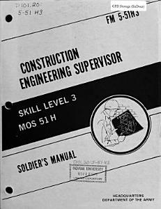Construction Engineering Supervisor PDF
