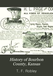 History of Bourbon County, Kansas: To the Close of 1865