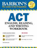 Barron s ACT English  Reading  and Writing Workbook PDF