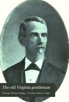The Old Virginia Gentleman PDF