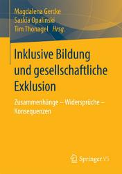 Inklusive Bildung und gesellschaftliche Exklusion PDF