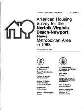Current Housing Reports: American housing survey for the ... Metropolitan Area in ...