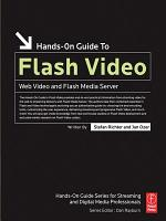 Hands On Guide to Flash Video PDF