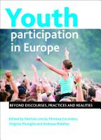 Youth Participation in Europe PDF
