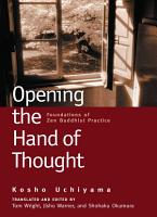 Opening the Hand of Thought PDF