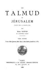 Le Talmud de Jérusalem: Volume10