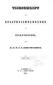 Tijdschrift voor staathuishoudkunde en statistiek: Volume 11
