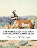 The Burgess Animal Book for Children PDF