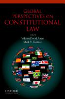 Global Perspectives on Constitutional Law PDF