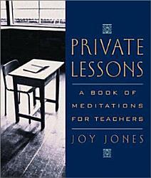 Private Lessons Book PDF