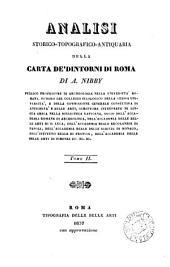 Analisi storico-topografico-antiquaria della carta de'dintorni di Roma: Volume 2