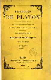 Oeuvres complètes de Platon: Volume2