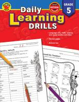 Daily Learning Drills  Grade 5 PDF