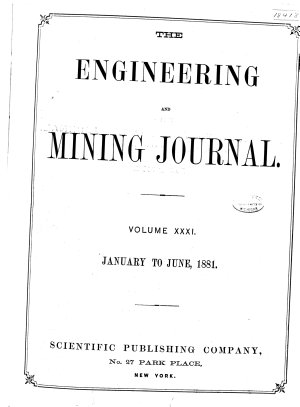 Engineering and Mining Journal PDF
