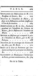 Collection complete des œuvres de J.J. Rousseau: Volume 25