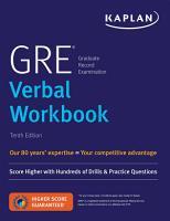 GRE Verbal Workbook PDF